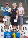 Siegerehrung Damen Downhill Schladming