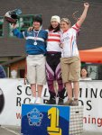 Siegerehrung Damen Staatsmeister Downhill