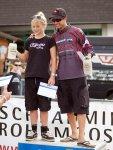 Siegerehrung Downhill Schladming Tagesschnellsten