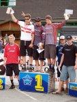 Siegerehrung Elite Downhill Schladming