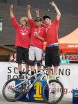 Siegerehrung Junioren Staatsmeister Downhill
