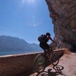 Ponale Gardasee Mountainbike