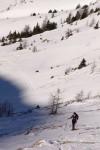 Anstieg zum Sonntagskogel (2229m)