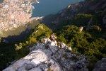 Klettersteig Cima SAT Riva
