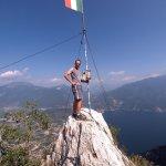 Klettersteig Cima SAT Riva Via dell' Amicizia