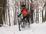 mountainbike snowdownhill snowbike
