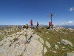 Marchkinkelle 2545 m Mountainbike Gipfel