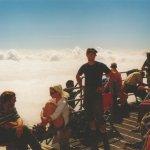 Aussichten auf 3999 Meter