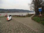 Velomobil Mango am Rhein