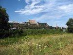 Bratislava Blick auf die Burg (PODHRADIE)