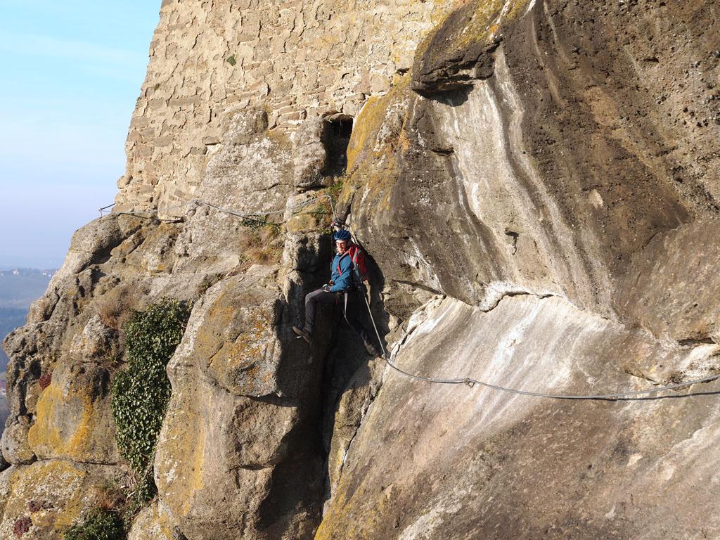 Klettersteig Riegersburg : Vulkanlandbiker gallery leopold klettersteig riegersburg