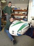 Groningen Sinner Mango Velomobil Reparatur (2736 Besuche)