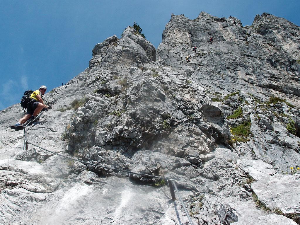 Franz Josef Klettersteig : Gc gj rosslochhöhlen klettersteig traditional cache in