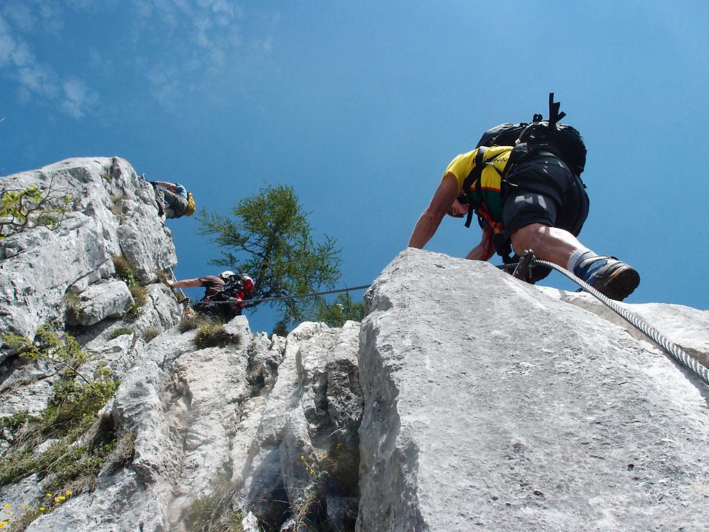 Klettersteig Leopoldsteinersee : Vulkanlandbiker gallery :: kaiser franz joseph klettersteig p6072913