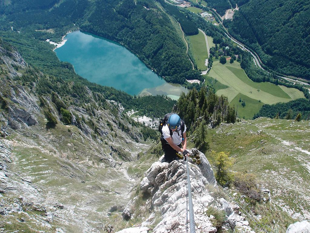 Franz Josef Klettersteig : Kaiser franz joseph klettersteig d hochschwab youtube