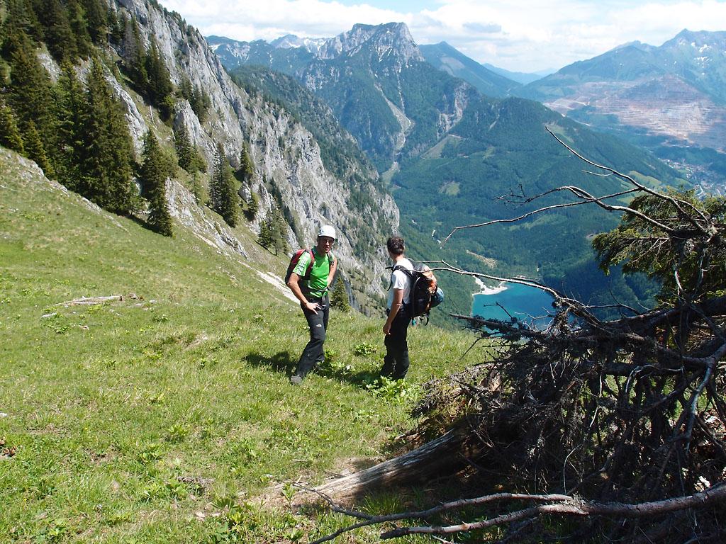 Klettersteig Leopoldsteinersee : Vulkanlandbiker gallery :: kaiser franz joseph klettersteig p6072976