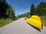 3. AlpeAdria-Liegerad+Trike+VM-Treffen 15.-17.6.2012 in Fusine Soca-/Isonzo-Tal - Part One (1565 Besuche)