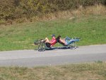 Liegerad Challenge Velomobile against B2B Recumbent (2207 Besuche)