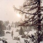 Winterstimmung die Ruhe vor dem Sturm